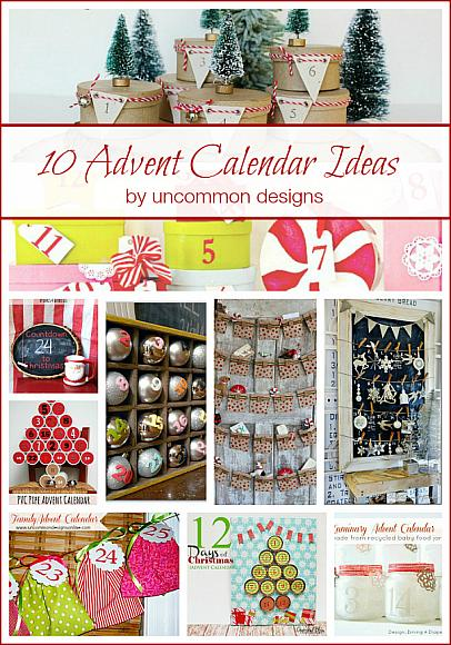 advent calendar craft ideas decoart crafts 10 advent calendar ideas 3319
