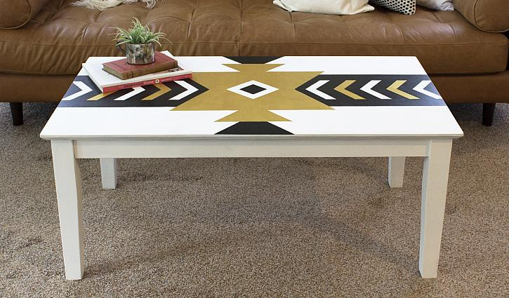 Bold Aztec Pattern Table