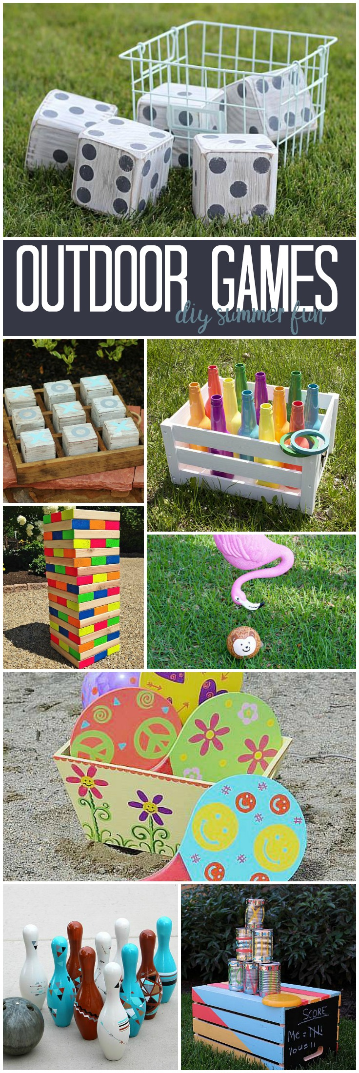Decoart Blog Diy Outdoor Games Diy Summer Fun