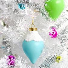 Snow Capped Ornaments