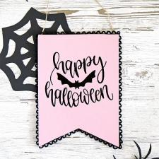 DIY Pastel Halloween Sign with Americana® Pearls™