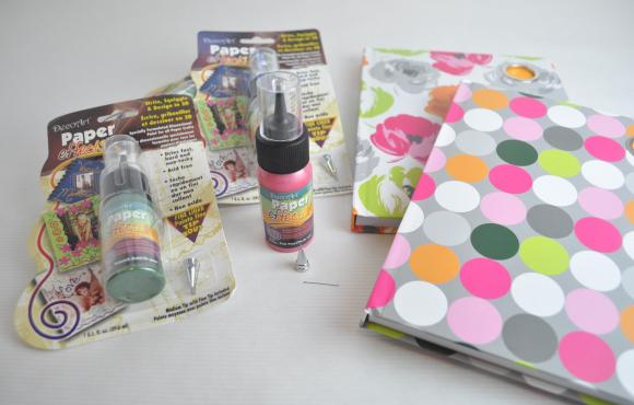 decoart blog - crafts - add dimension to your journals with paper