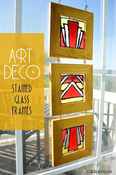 Decoart Blog Crafts Art Deco Stained Glass Diy