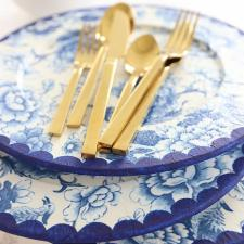 Blue Willow Inspired Charger Plates