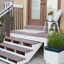How to Transform Outdoor Stairs and Railing