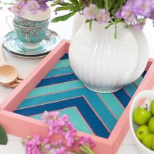 Spring Serving Tray