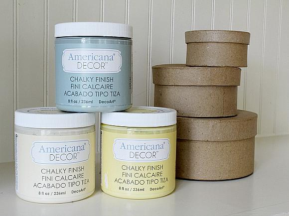 Chalky Finish Butterfly Gift Boxes