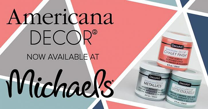 NEW Americana Decor Products at Michaels