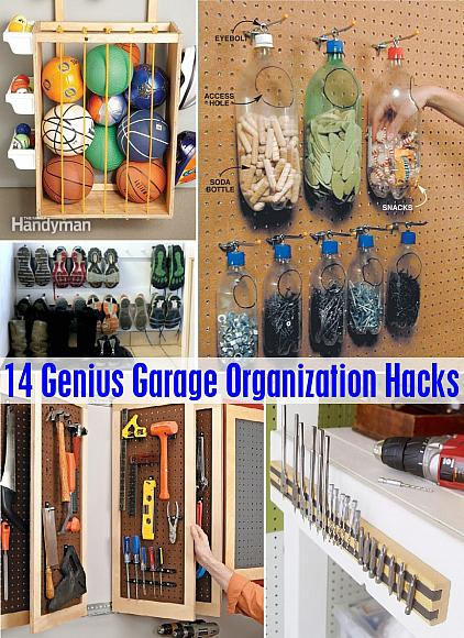 Decoart Blog Diy 14 Genius Garage Organization Hacks