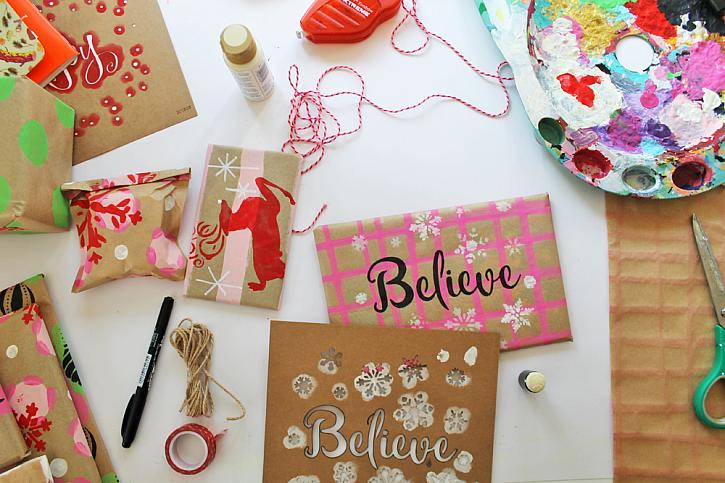 Custom Wrapping Paper Inspiration