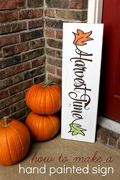 Decoart Blog Crafts Diy Autumn Sign