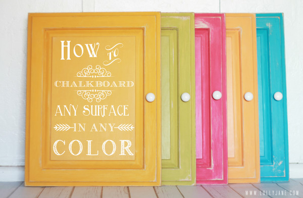 Using Chalkboards Around The Home