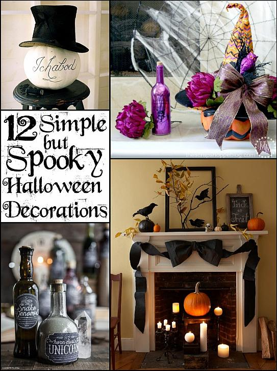Decoart Blog Entertaining Simple Spooky Halloween