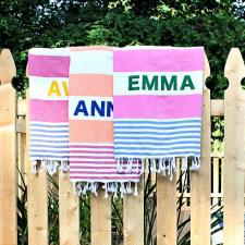 Personalized Turkish Towels